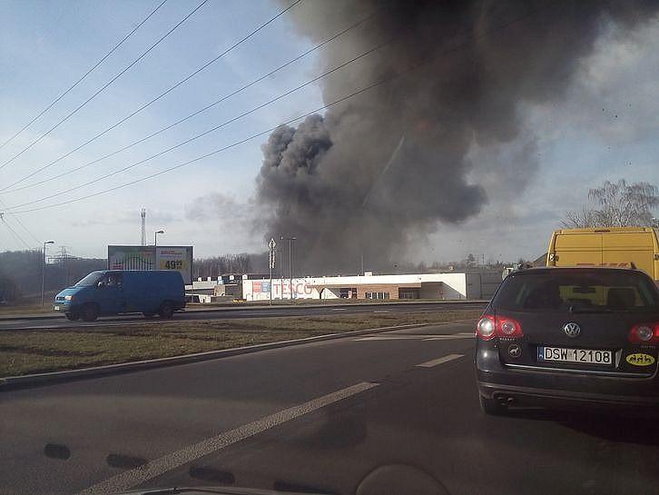 Duża akcja gaśnicza - zdjęcia/video