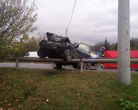 Tragiczny wypadek - zdjęcia