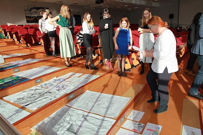 Studenci zaprezentowali swoje prace