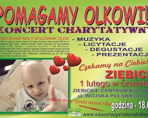 Wspólnie pomóżmy Olkowi