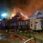Wielki pożar w uzdrowisku