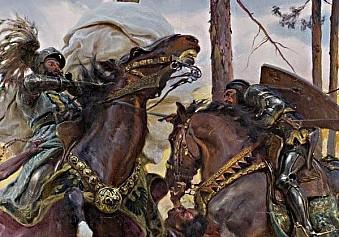 """""""Bitwa pod Grunwaldem"""" w Książu"""