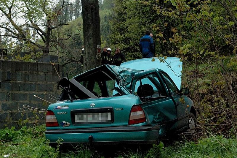 Wypadek Czechów w Unisławiu - zdjęcia