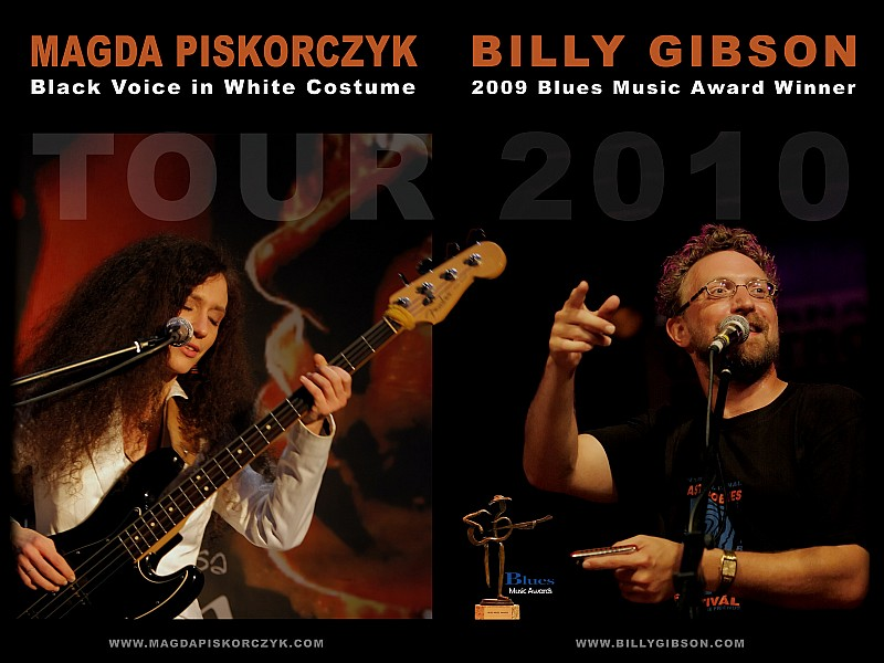 Koncert: Magda Piskorczyk i Billy Gibson
