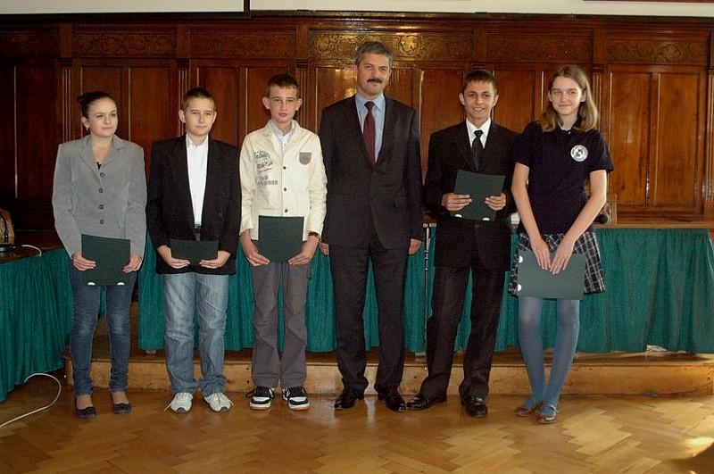 Najlepsi gimnazjaliści w Wałbrzychu