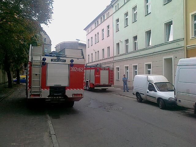 Kolejny alarm pożarowy