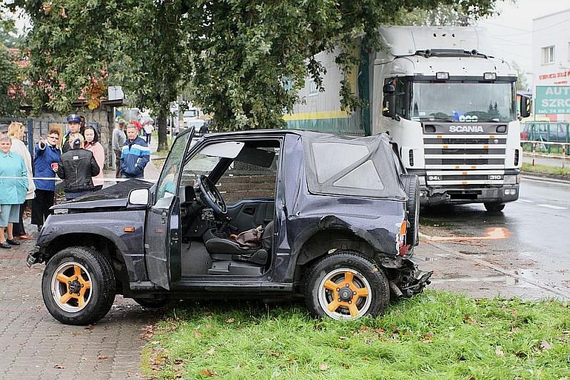 Dwie ofiary wypadku drogowego