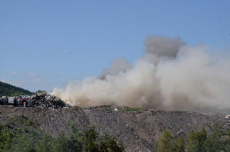 To był już kolejny pożar w tym miejscu