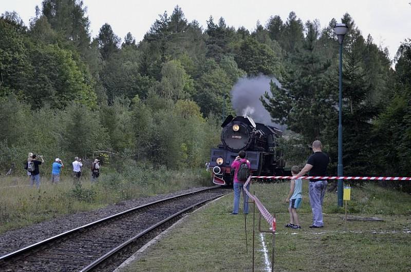 Zabytkowa lokomotywa