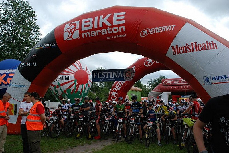 Bike Maraton w Głuszycy - zdjęcia