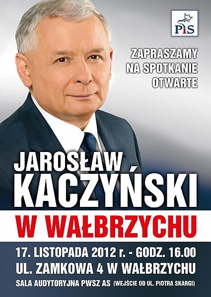 Prezes PiS w Wałbrzychu