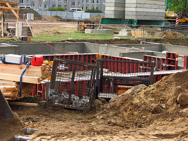 Budują mieszkania na Podzamczu
