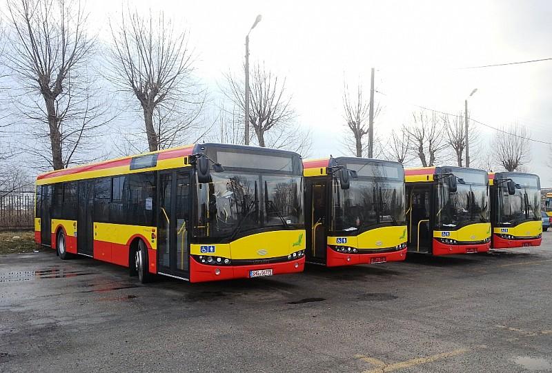 Nowoczesne autobusy