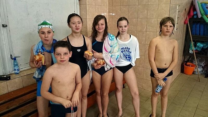 Wszyscy chcą pływać