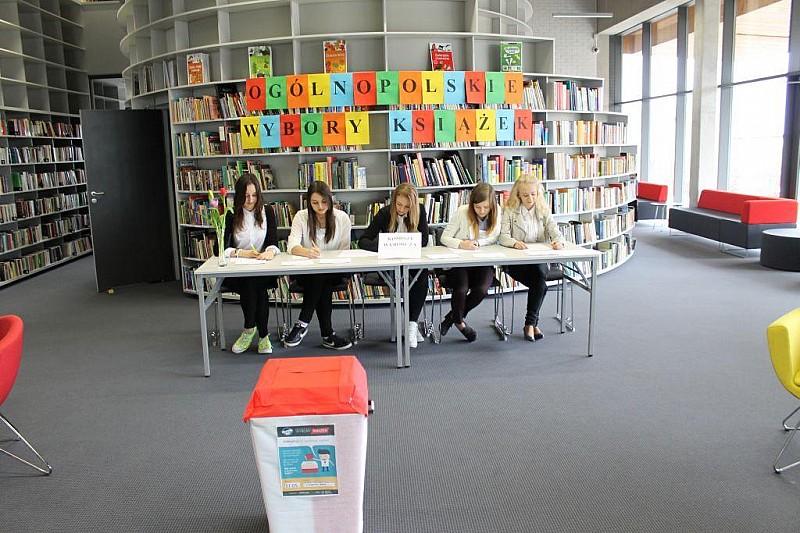 Wybrali książki