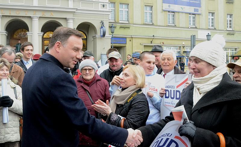 Andrzej Duda w Wałbrzychu