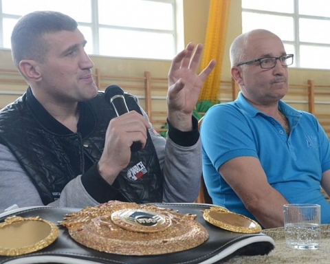 Mistrzowie boksu w Głuszycy
