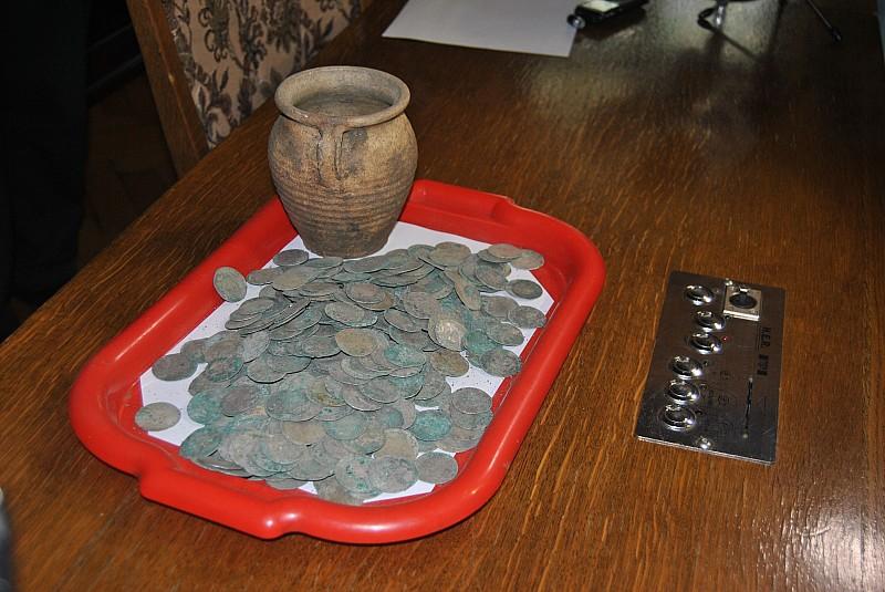 Srebrne monety - kolejne znalezisko